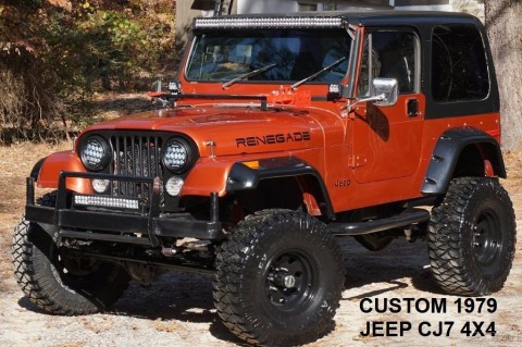1979 Jeep CJ DANA 44 CHEVY V8 for sale