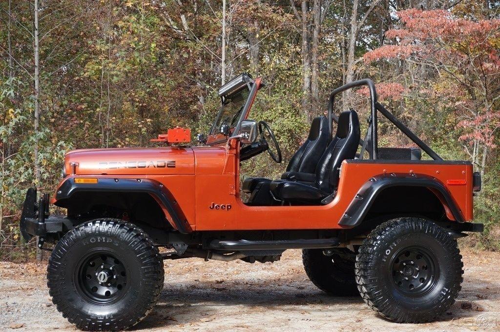 1979 Jeep CJ DANA 44 CHEVY V8