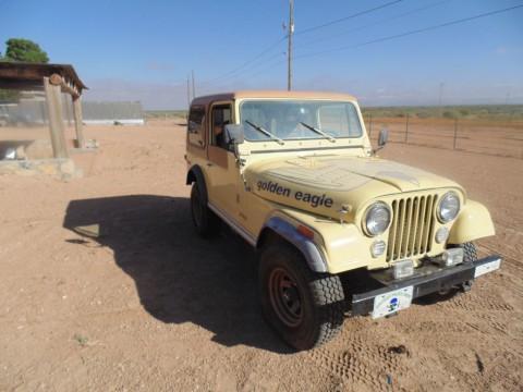 1980 Jeep CJ Golden Eagle-CJ7 for sale