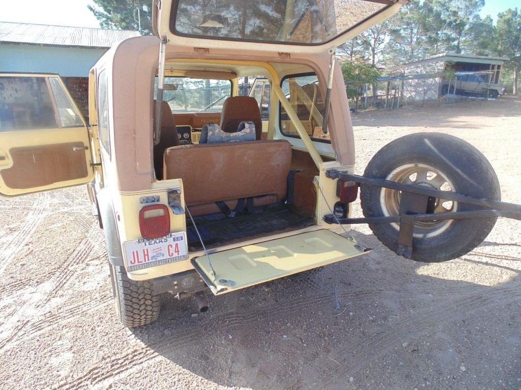 1980 Jeep CJ Golden Eagle-CJ7
