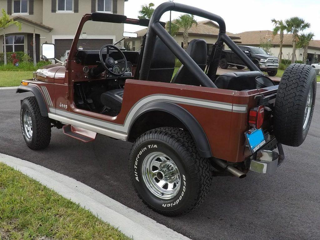 1985 Jeep CJ7 Laredo