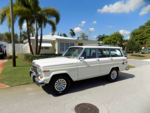 1987 Jeep Grand Wagoneer Heritage V8 for sale