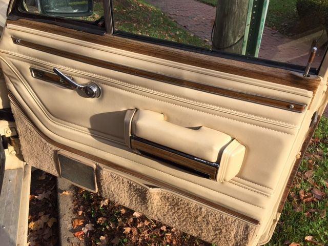1989 Jeep Wagoneer Base Sport Utility 4-Door