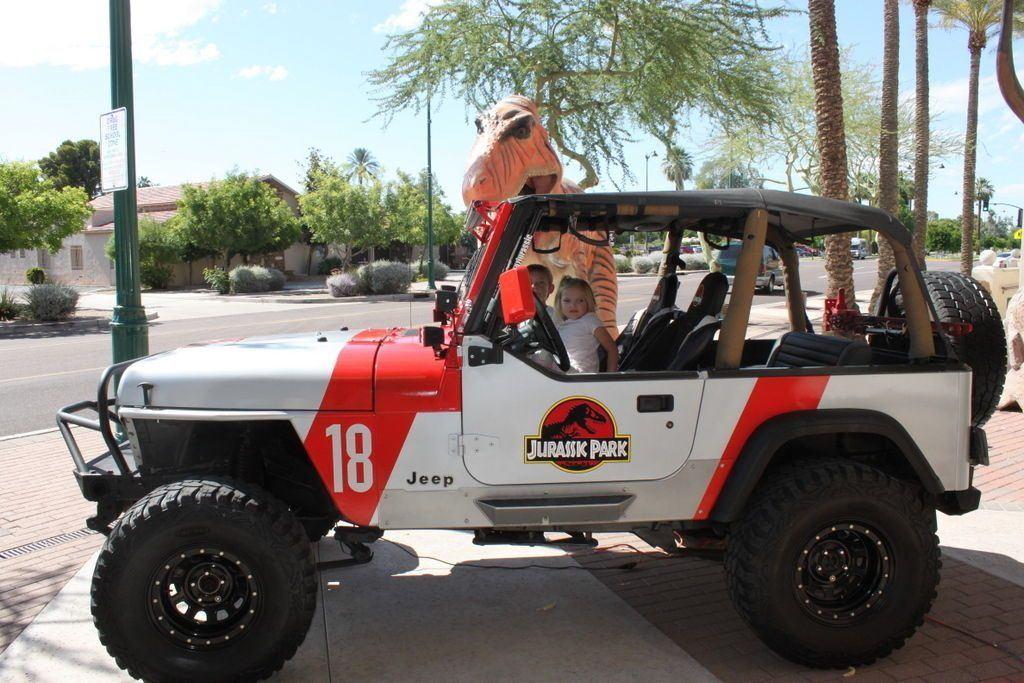 1995 Jeep Wrangler YJ Jurassic Park
