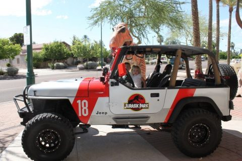 1995 Jeep Wrangler YJ Jurassic Park for sale