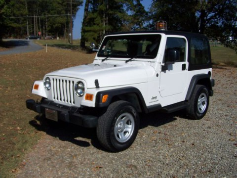 2004 Jeep Wrangler 1-owner 84K NO RUST Never ON MAIL Route RARE FIND for sale