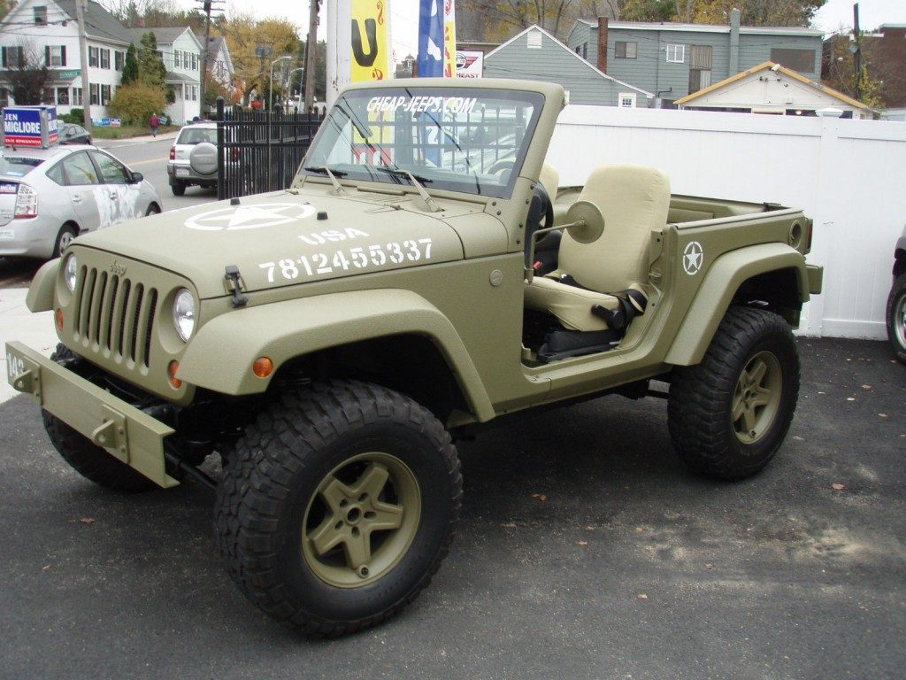 Jeep Wrangler Unlimited For Sale >> 2012 Jeep Wrangler Sport, army Jeep for sale