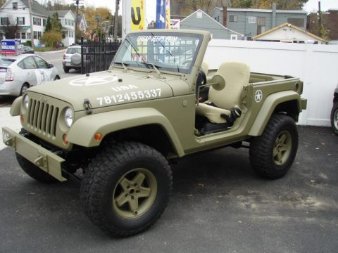2012 Jeep Wrangler Sport, army Jeep for sale