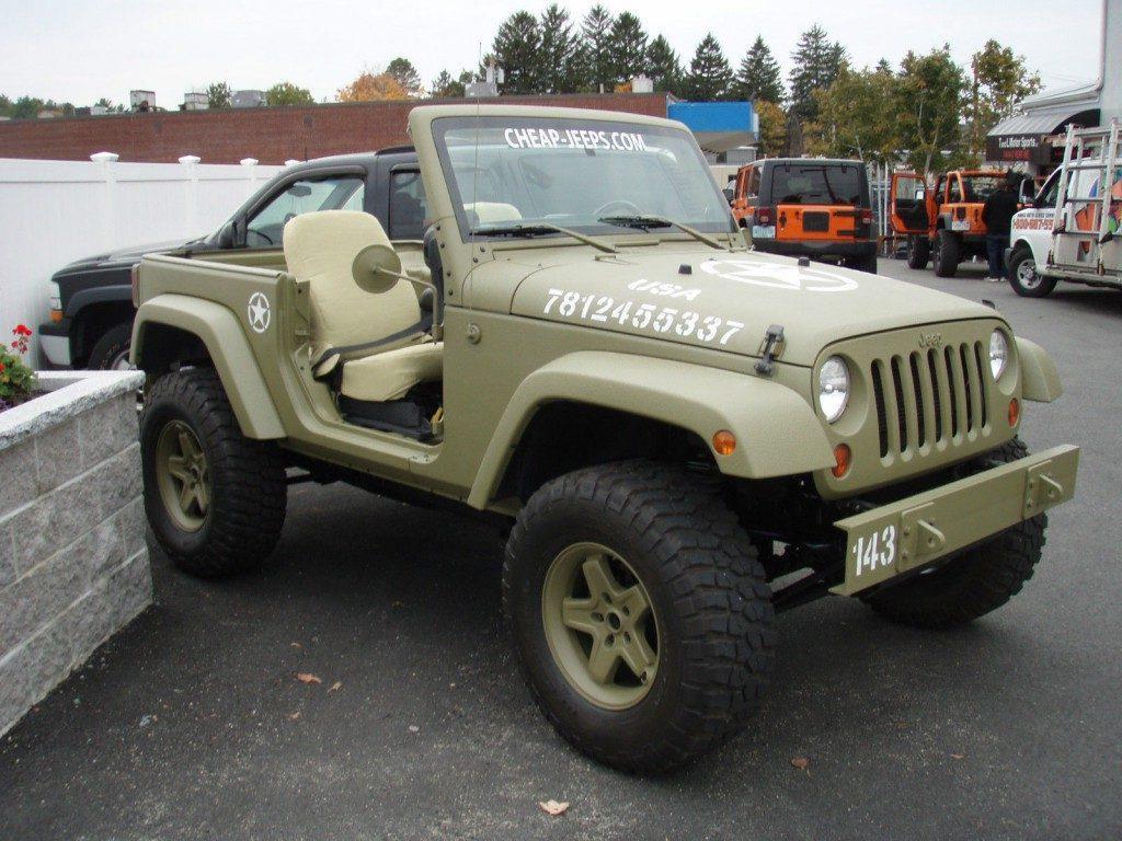 2012 Jeep Wrangler Sport, army Jeep