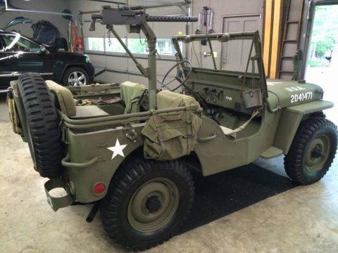 1942 Willys Jeep WW 2 for sale