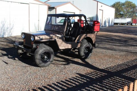 1946 Jeep CJ 2A 4 cylinder for sale