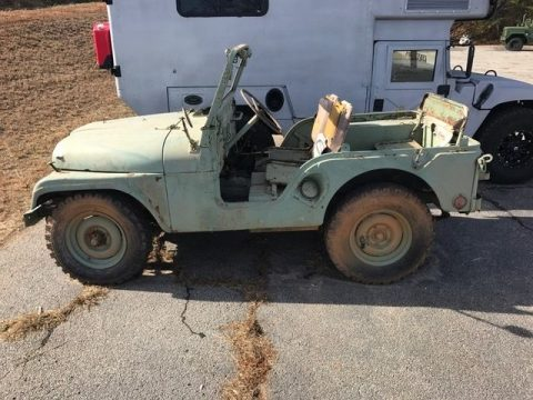 1953 Jeep M38A2 All original components. for sale