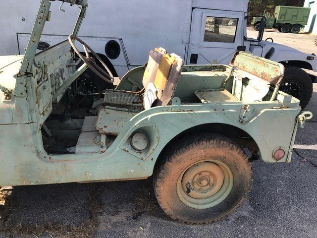 1953 Jeep M38A2 All original components.