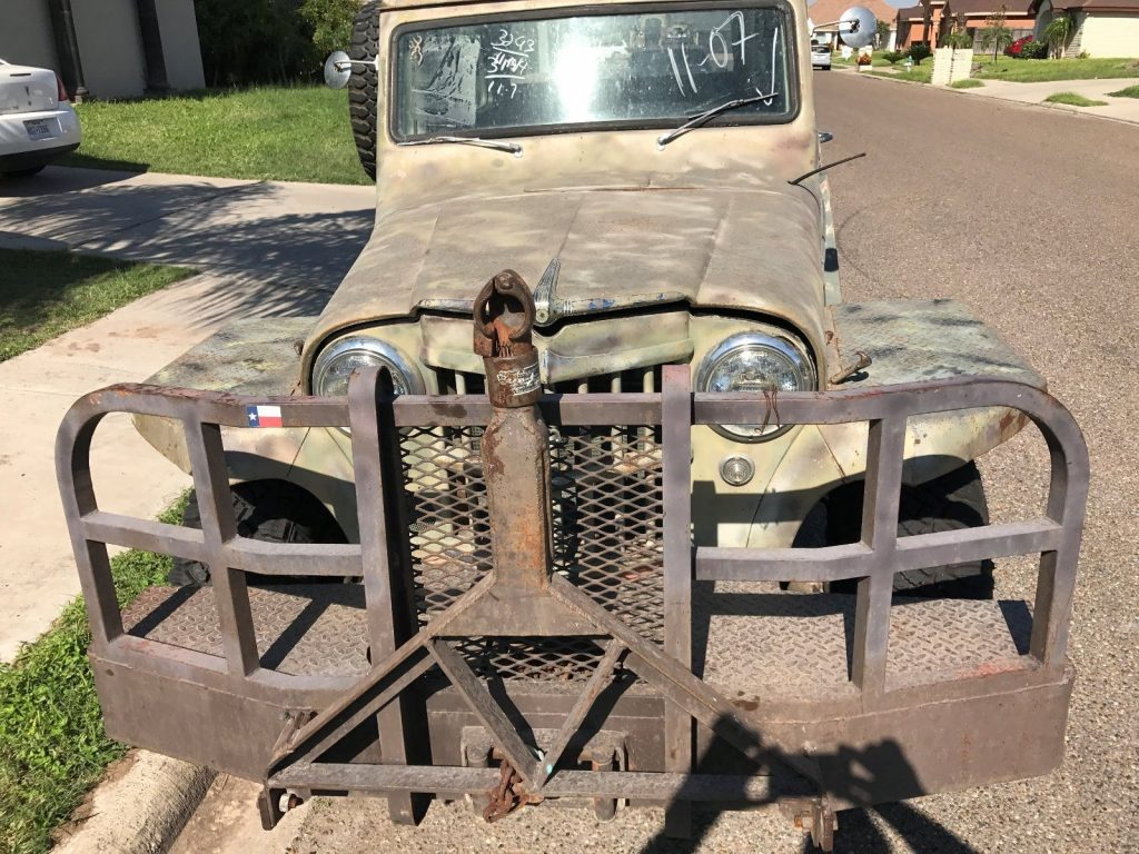 1960 Jeep Willys Wagon huntin g vehicle for sale