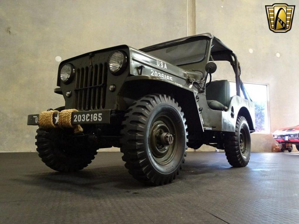 1962 jeep willys cj3b for sale. Black Bedroom Furniture Sets. Home Design Ideas