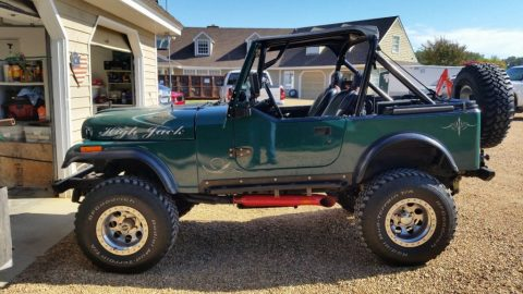 1981 Jeep CJ7 for sale