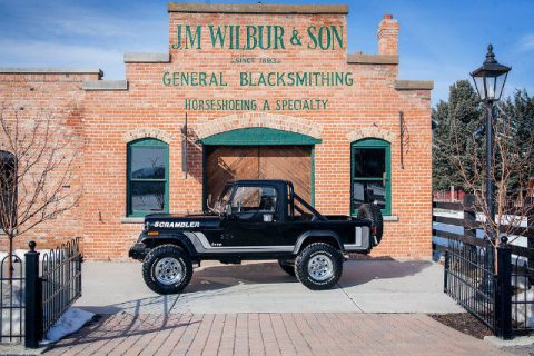 1982 Jeep Scrambler Novak 5.3L LS Conversion 1000 Miles Black Truck Novak 5.3LL for sale