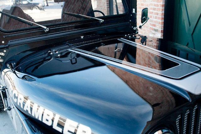 1982 Jeep Scrambler Novak 5.3L LS Conversion 1000 Miles Black Truck Novak 5.3LL