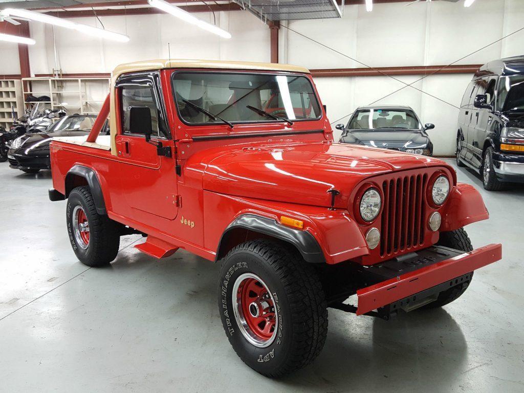 1983 Jeep CJ8 Scrambler frame