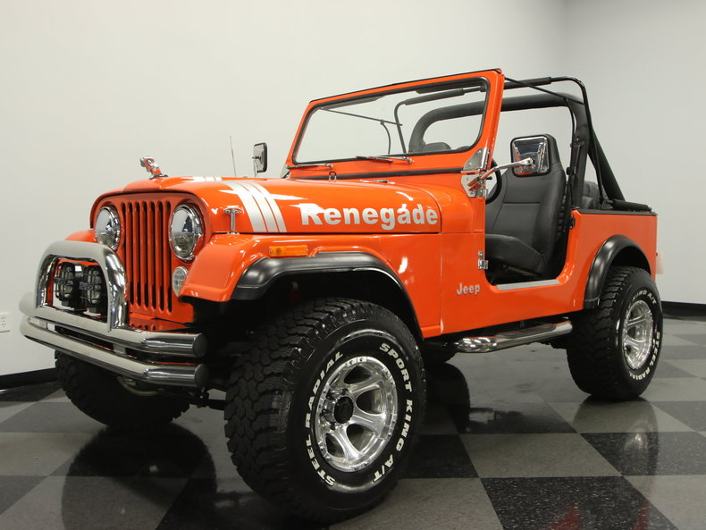 1985 Jeep CJ7 Base Sport Utility 2-Door