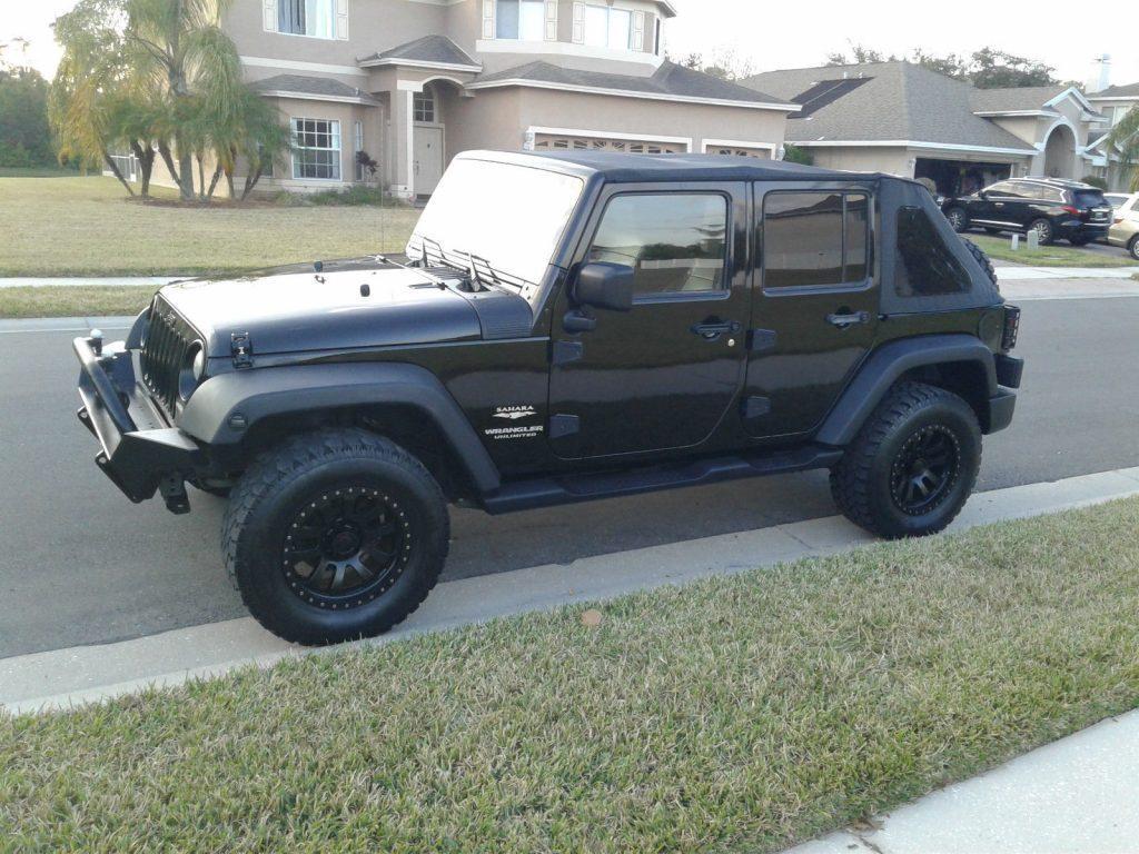 2007 jeep wrangler unlimited sahara for sale. Black Bedroom Furniture Sets. Home Design Ideas
