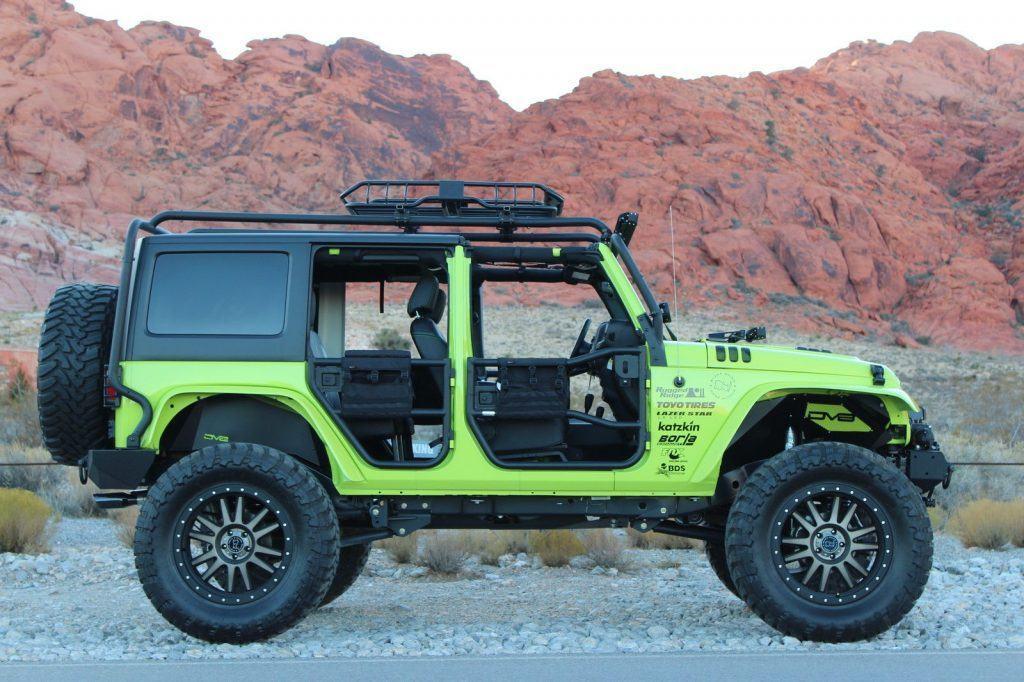 2016 Jeep Wrangler KAO SEMA