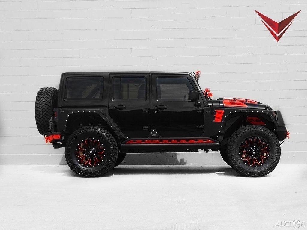 2016 Jeep Wrangler Sahara Voltron Motors
