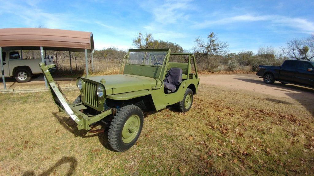 1948 jeep willys for sale. Black Bedroom Furniture Sets. Home Design Ideas