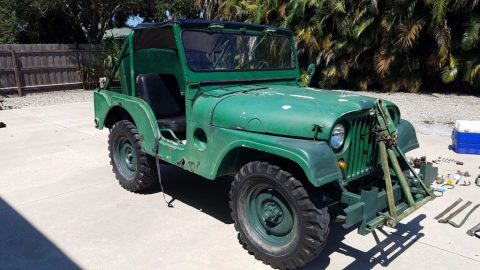 1951 Willys Jeep M38 for sale
