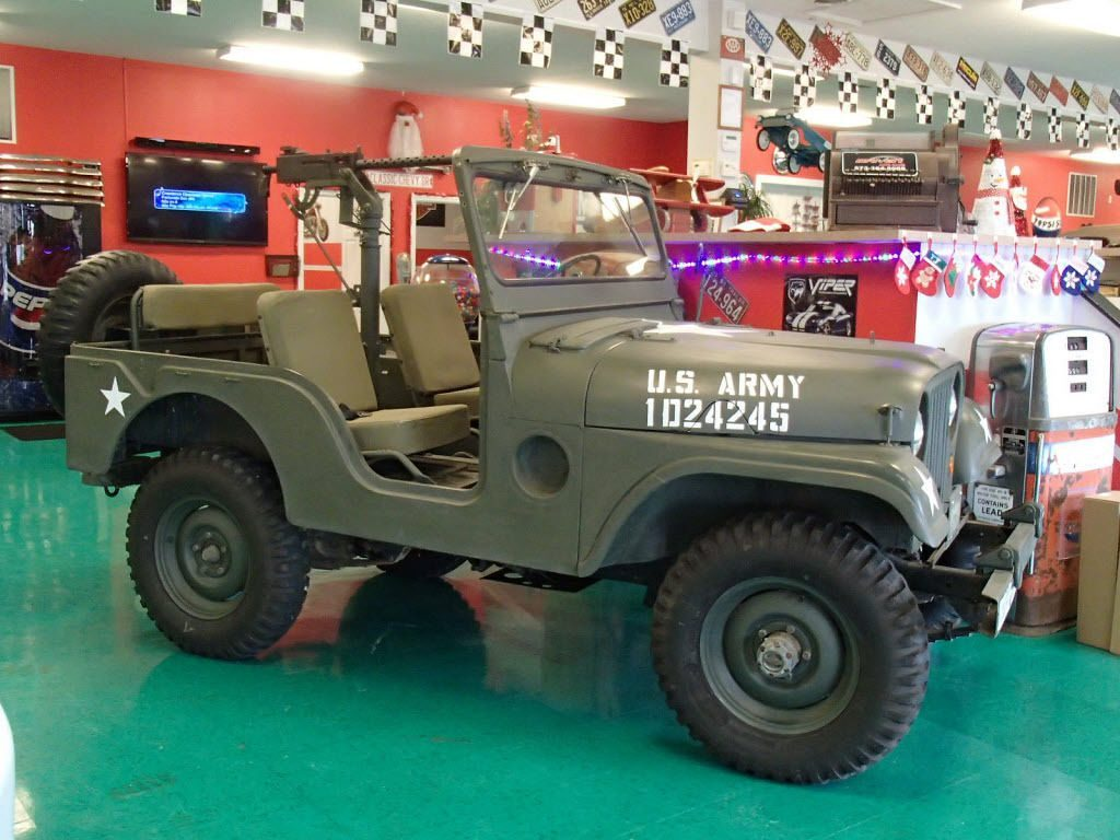 1954 Jeep Willys Military B-38