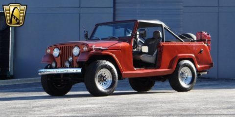 1969 Willys Jeepster Commando V8 Chevy 350 for sale