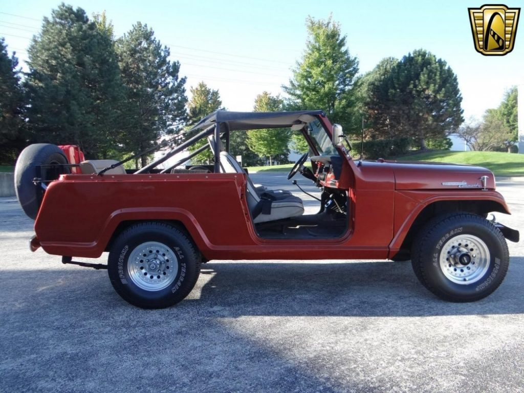 1969 Willys Jeepster Commando V8 Chevy 350