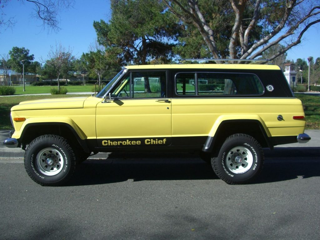 1978 jeep cherokee chief s for sale. Black Bedroom Furniture Sets. Home Design Ideas