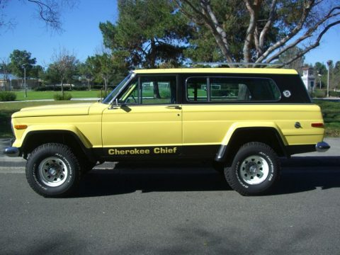 "1978 Jeep Cherokee Chief ""S"" for sale"