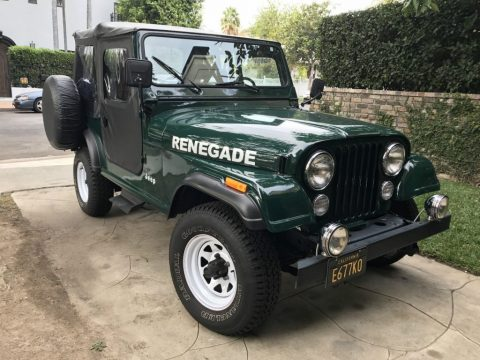 1983 Jeep CJ 7 Renegade for sale