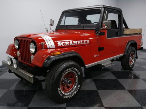 1985 Jeep CJ8 Scrambler for sale