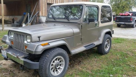 1989 Jeep Wrangler YJ Laredo for sale