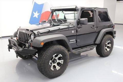 2012 Jeep Wrangler SPORT 4X4 SOFT TOP for sale