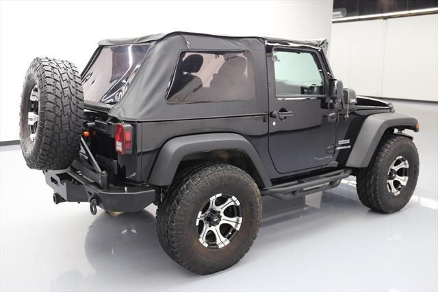 2012 Jeep Wrangler SPORT 4X4 SOFT TOP