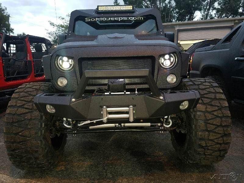 2016 Jeep Wrangler Black Bear 4×4