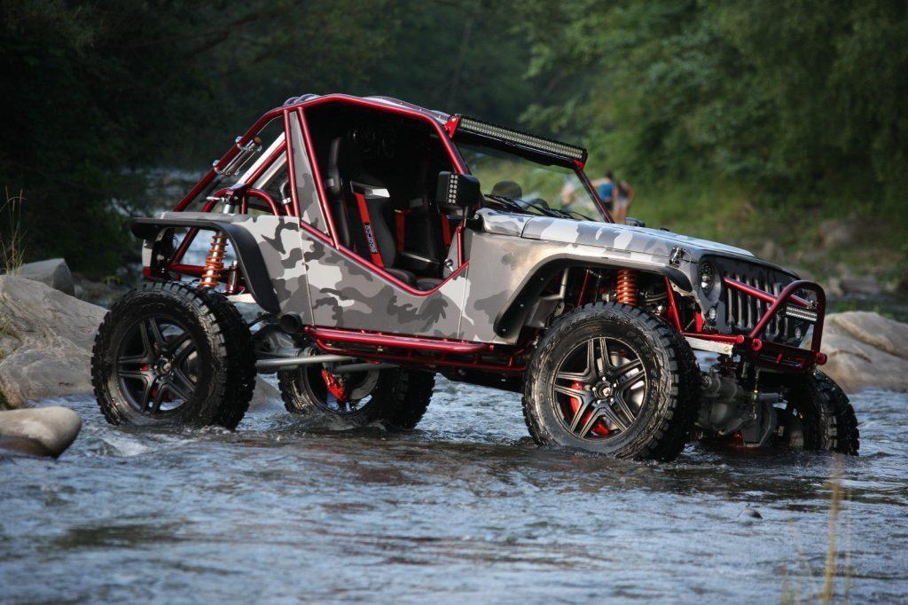 2016 Jeep Wrangler Hellcat Engine