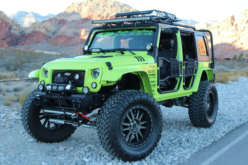 2016 Jeep Wrangler Rubicon KAO SEMA