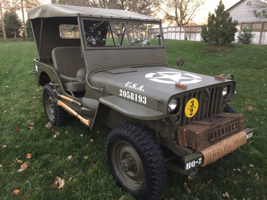 Jeep 1952 Willys M38