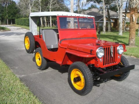1946 Willys Jeep CJ2A for sale