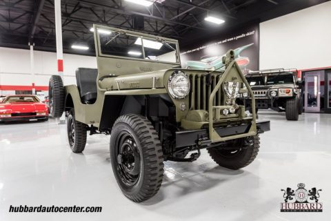 1947 Jeep Willys Fully Restored Excellent Example for sale
