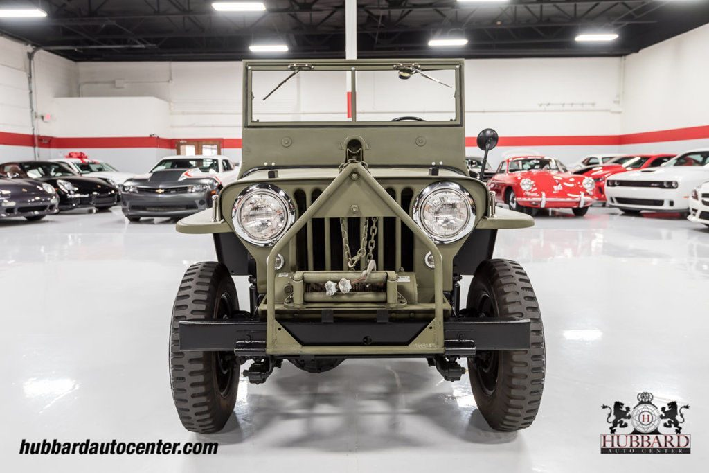 1947 Jeep Willys Fully Restored Excellent Example