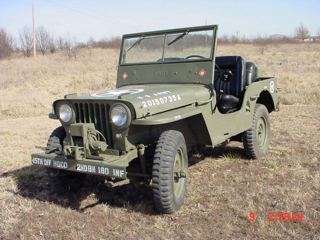 1947 willys jeep cj2a for sale. Black Bedroom Furniture Sets. Home Design Ideas