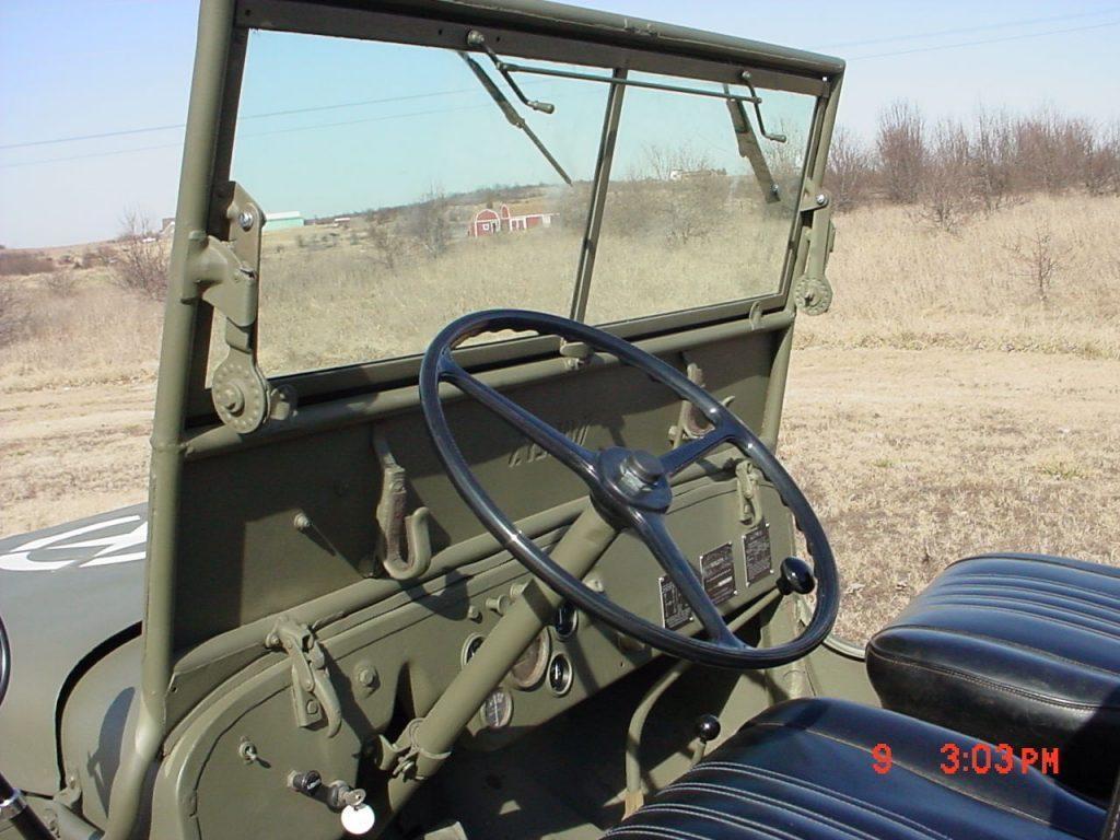 1947 Willys Jeep CJ2A