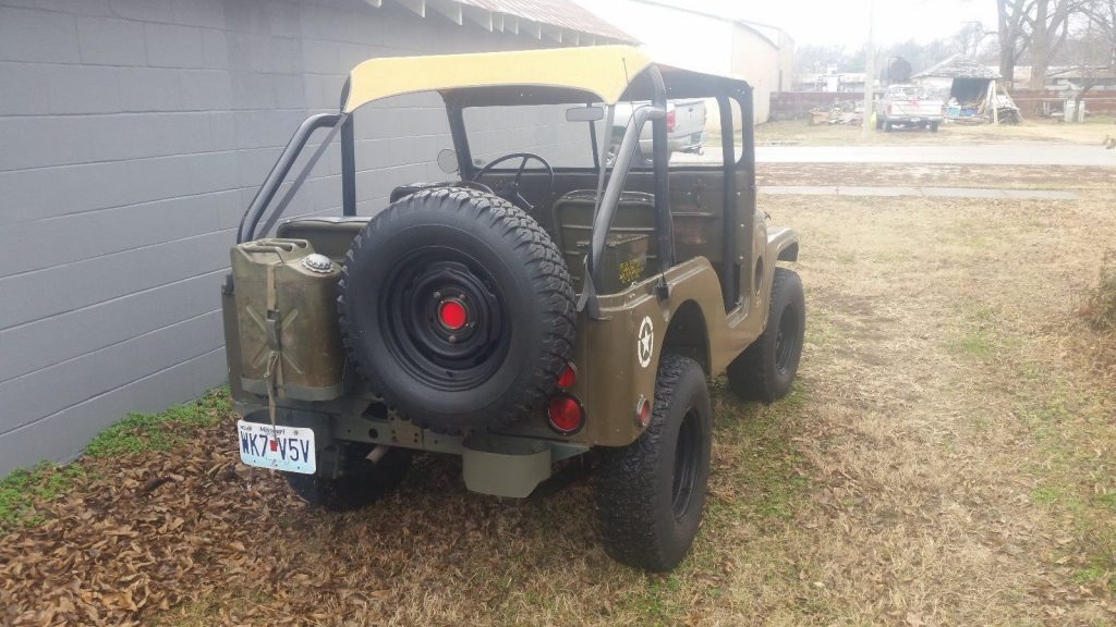 1953 Jeep Willys M38A1