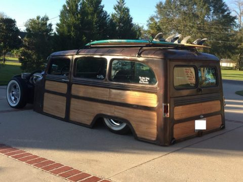 1961 Jeep Willys Wagon Woody for sale